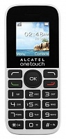 Alcatel 1016D Pure White