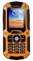 Sigma X-treme II67 Boat Orange